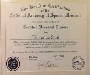 Free 10 questions NASM CPT Practice Test